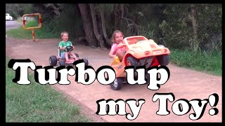 getlinkyoutube.com-Turbo up my Toy – Repurposing a toy car - Make Science Fun