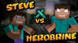 "getlinkyoutube.com-""Steve Vs Herobrine"" - A Minecraft Original Music Video"