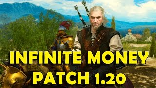 getlinkyoutube.com-The Witcher 3 - Patch 1.20 (Blood and Wine) Infinite Money & Crafting Materials Exploit / Glitch