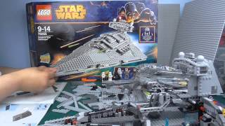getlinkyoutube.com-Lego Star Wars: Let's Build 40X Imperial Star Destroyer 75055