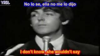 getlinkyoutube.com-The Beatles - Yesterday ( SUBTITULADA ESPAÑOL INGLES )