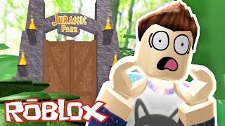 LOST IN JURASSIC PARK IN ROBLOX!