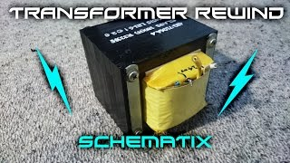How To: Rewind Microwave Oven Transformer, Trash To Treasure!