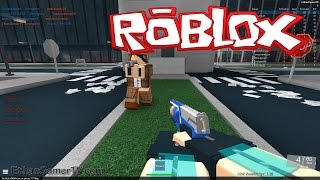 getlinkyoutube.com-Let's play ROBLOX! Nerf FPS Advanced
