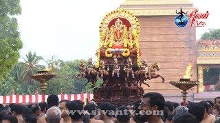 நல்லூர் ஸ்ரீ கந்தசுவாமி கோவில் 19ம் திருவிழா காலை சூர்யோற்சவம் 24.08.2019