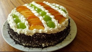 getlinkyoutube.com-torta sahla تورتة او طورطة سهلة و رائعة مع طبخ ليلى