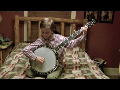 8 Year Old Banjo Superstar