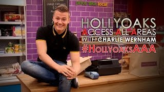 #HollyoaksAAA with Charlie Wernham