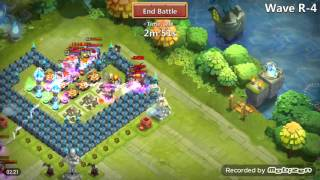 getlinkyoutube.com-Castle Clash Best base for th 17 and HBM R