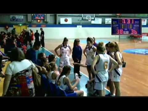 2014 U18 National Basketball Championships, SA Country V SA Metro Women Bronze Medal Match 17/4/14