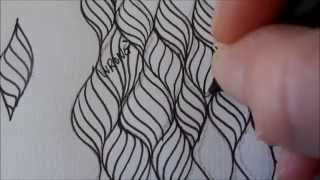 getlinkyoutube.com-How to draw sinuous curves