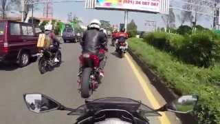getlinkyoutube.com-GoPro   Mudik Lebaran Bandung to Tasikmalaya 2014 with Ninja 250 FI