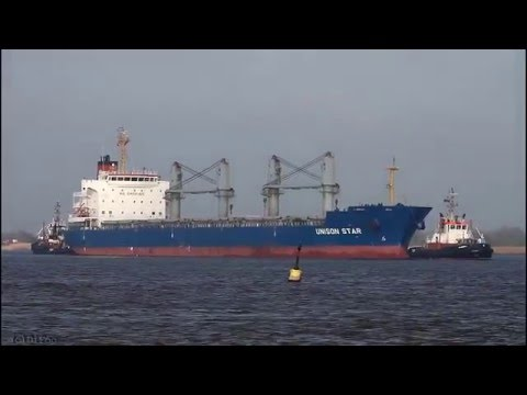 Click to view video UNISON STAR - IMO 9579391 - Germany - Weser - Brake Unterweser