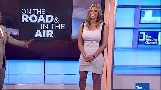 getlinkyoutube.com-Stephanie Abrams in tight white/black dress 07-25-13 (1080p)