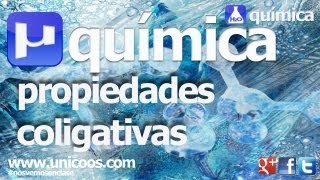 Imagen en miniatura para QUIMICA Descenso crioscopico PROPIEDADES COLIGATIVAS Punto de congelacion