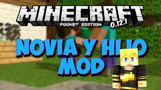 getlinkyoutube.com-NOVIA E HIJO MOD MINECRAFT PE 0.12.1 l Mods Para Minecraft PE 0.12.1