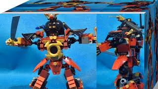 getlinkyoutube.com-레고 닌자고 9448 사무라이X의 역습 정품 조립 리뷰 Lego ninjago SAMURAI X MECH