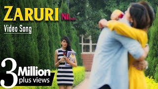 Zaruri Ni | New Punjabi Song | R Mohit Feat. Neetu Bhalla | Latest Punjabi Songs 2018 | Yellow Music