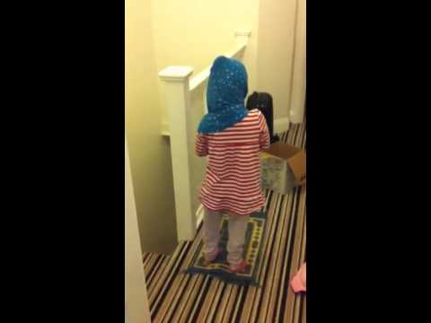 6 year old praying salat, watch it all
