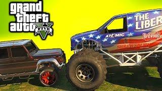 getlinkyoutube.com-GTA 5 Tips: Liberator Vs Dubsta - Who Wins? (Grand Theft Auto V Tips)