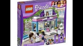 getlinkyoutube.com-Review - Lego Friends Beauty Shop
