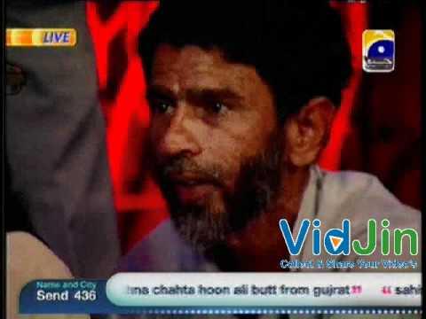 Jinnat Live in Sahir Lodhi Show Das Tak Kay Baad - 18 June 2012 Part 1