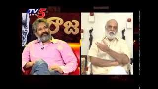 getlinkyoutube.com-K.Raghavendra Rao Funny Questions To Rajamouli About Baahubali : TV5 News