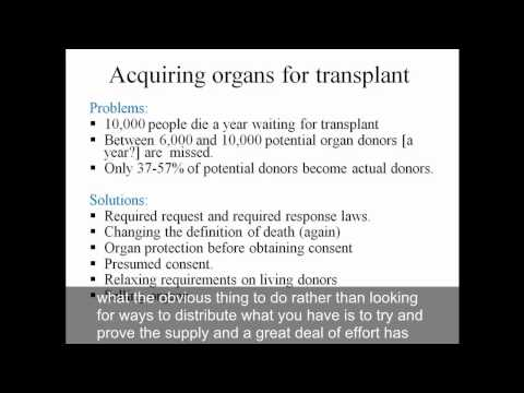 Video 8 Scarce Medical Resources