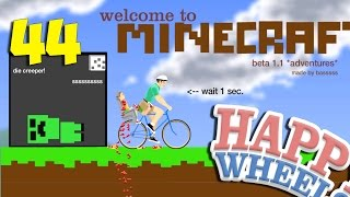 getlinkyoutube.com-ДОХЛЫЙ КРИПЕР - Happy Wheels 44 (Карты Minecraft)