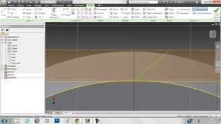 getlinkyoutube.com-Creating helical gear in Inventor 2012(with working animation)
