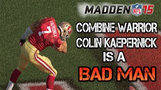 getlinkyoutube.com-Madden 15 Ultimate Team | 98 OVR Combine Warrior Colin Kaepernick is a BAD MAN! | MUT 15