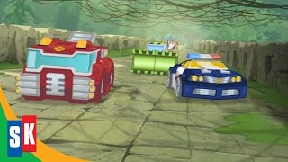 getlinkyoutube.com-Transformers Rescue Bots: Jurassic Adventure (4/4) Rescue Bots' Daring Escape