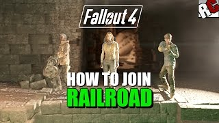 getlinkyoutube.com-Fallout 4 - How to Join the Railroad - Road to Freedom Quest Guide (Railroad Achievement)