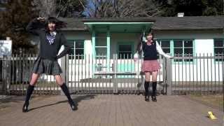 getlinkyoutube.com-【りりあ × まなこ】 Sweetie×2  踊ってみた
