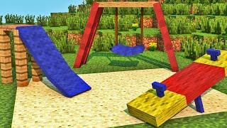 getlinkyoutube.com-Minecraft - Industrial Craft: Construindo Parquinho