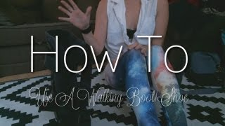 How To | Use Walking Boot/Shoe