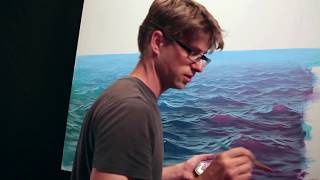 getlinkyoutube.com-How To Paint Waves - Lesson 3 - Wet On Dry