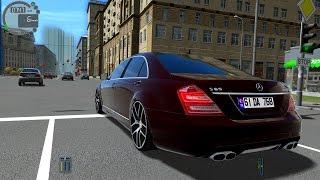 getlinkyoutube.com-City Car Driving 1.5.0 Mercedes-Benz S65 AMG  TrackIR 4 Pro [1080P]