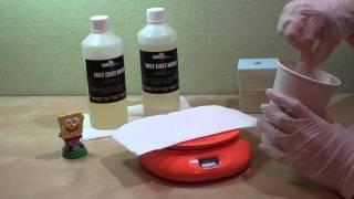 Κατασκευή καλουπιών σιλικόνης και χύτευση μοντέλων με ρητίνες (resin molding & casting)