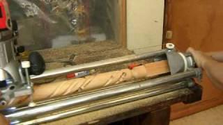 getlinkyoutube.com-Arte en Torno-Espiral en madera 4