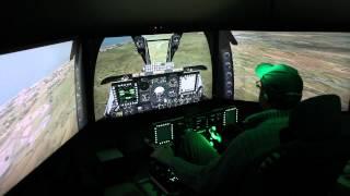 Matt's A10-C cockpit.