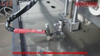 getlinkyoutube.com-Przecinarka plazmowa Berkers CUT50 C50 we współpracy z ploterem tnącym CNC