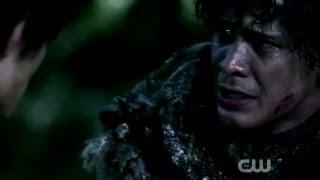 "getlinkyoutube.com-Bellamy says ""We can't lose Clarke"" || 3x02"