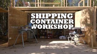 getlinkyoutube.com-Shipping Container Workshop