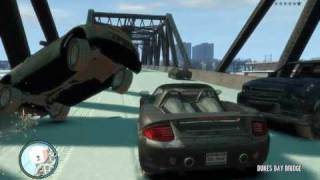 getlinkyoutube.com-GTA IV Heavy Car Mod - Bridge of Death