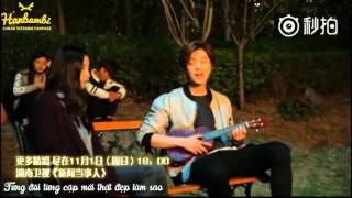 [VIETSUB] 151031 People in News - Luhan singing 虫儿