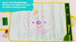getlinkyoutube.com-Crayola® Doodle Magic Color Mat Demo