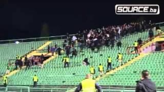getlinkyoutube.com-FK Sarajevo - Borac incident