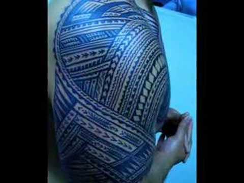 tattooing samoa. polynesian tatau 3:13
