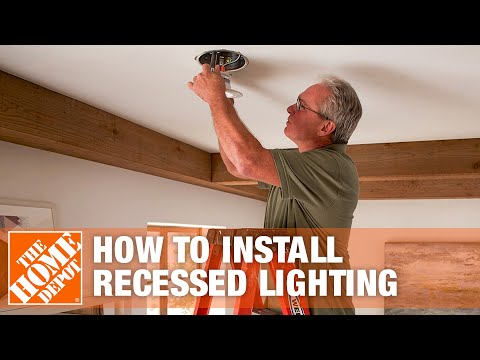how to install recessed lighting in finished basement